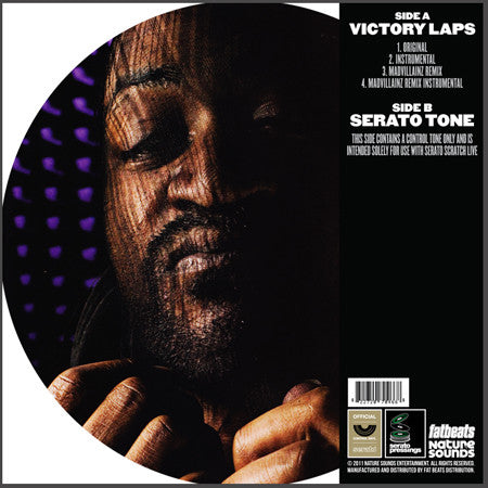 Doomstarks x Serato- Victory Laps (Limited Edition Picture Disc) - The Giant Peach - 2
