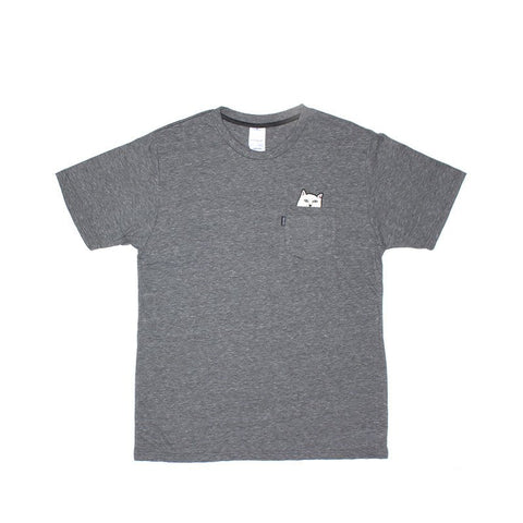 RIPNDIP - Lord Nermal Men's Pocket Tee, Athletic Grey