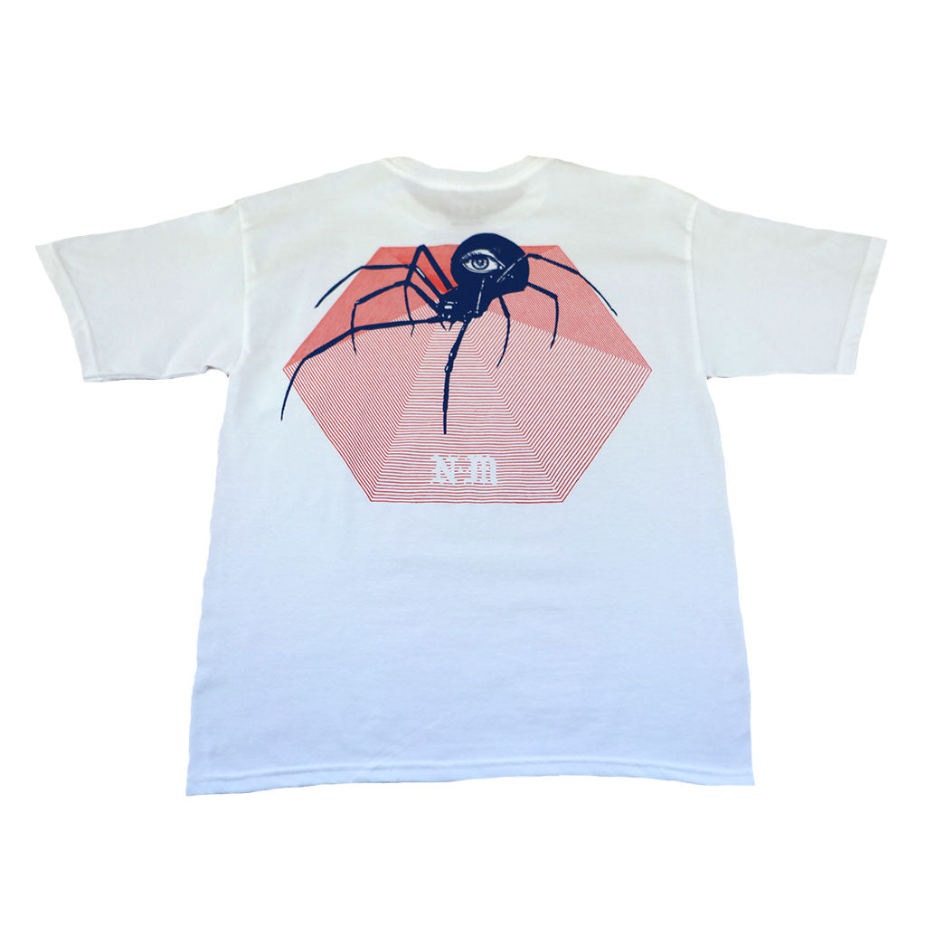Never Made - Spider Men's Shirt, White
