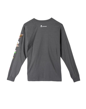 tokidoki Noodle Sleeves L/S Women's Tee, Storm