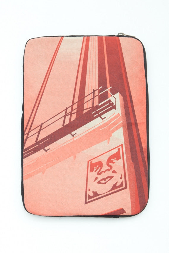 OBEY - Sunset & Vine Notebook Case, Black - The Giant Peach