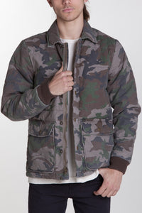 OBEY - Hunted Men's Jacket, Field Camo - The Giant Peach