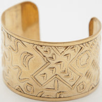 OBEY - Nomad Cuff Bracelet, Antique Gold - The Giant Peach
