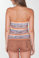 OBEY - Sedona Women's Tube Top, Brown - The Giant Peach - 3