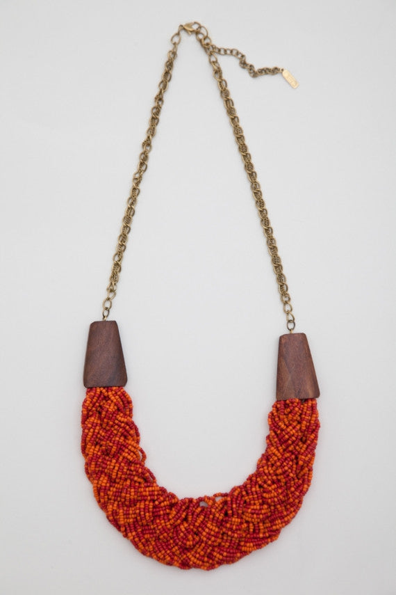 OBEY - Gypsy Queen Women's Necklace, Red - The Giant Peach - 1