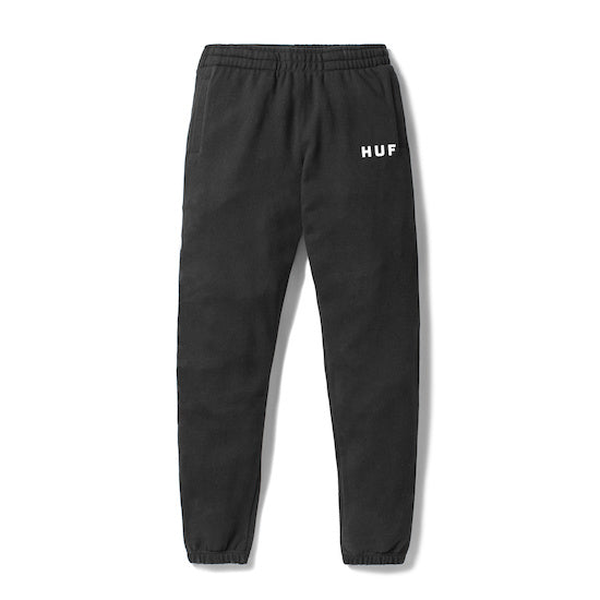 HUF - Original Men's Fleece Pants, Black - The Giant Peach