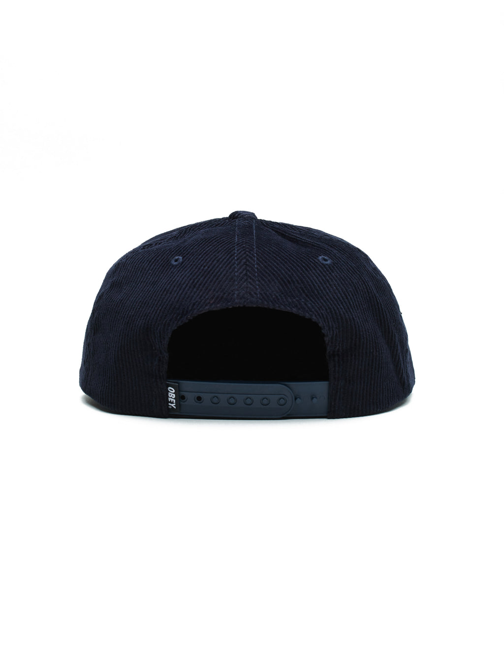 OBEY - Brush 6 Panel Men's Strapback, Navy