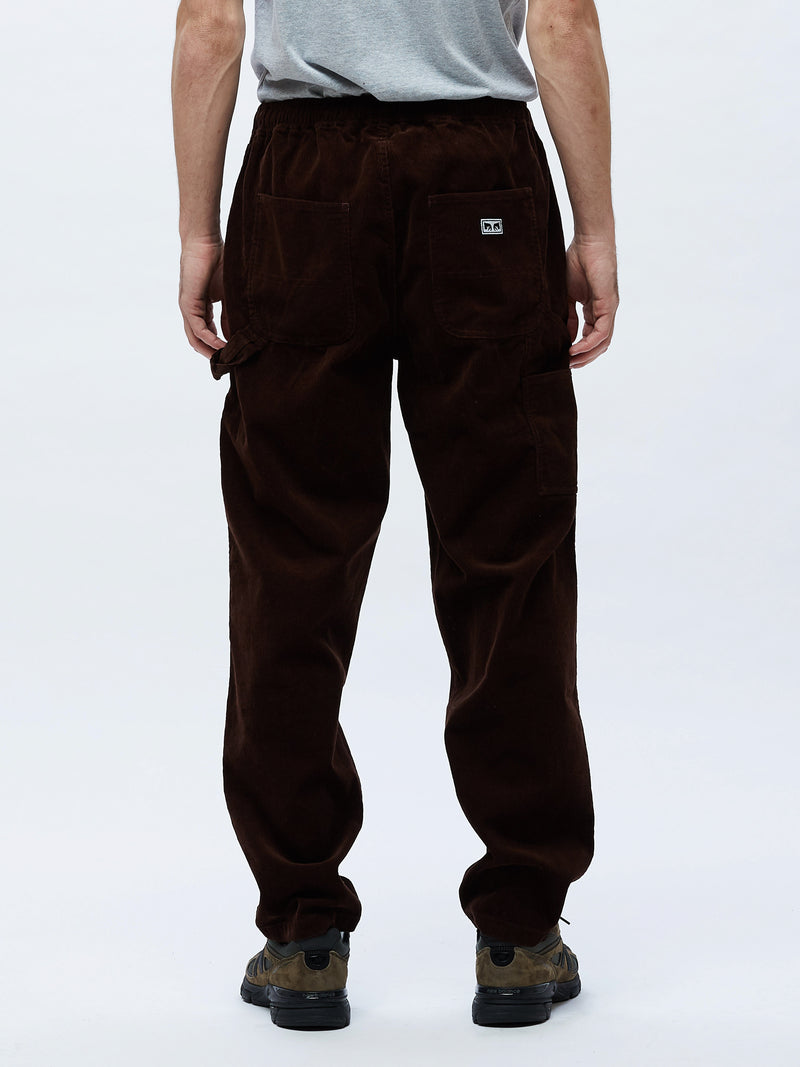 OBEY - Easy Corduroy Men's Carpenter Pant, Brown