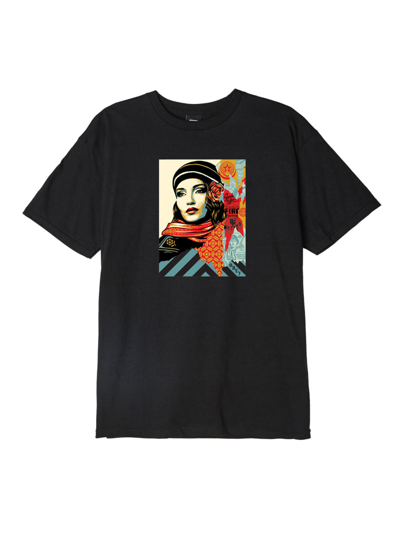 OBEY - Fire Sale Men's Tee, Black