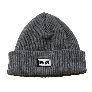 OBEY - Subversion Beanie, Heather Grey
