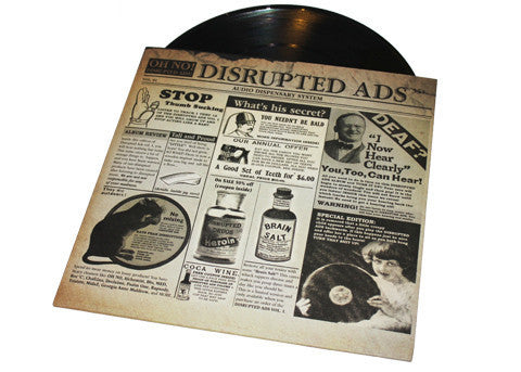 Oh No - Disrupted Ads, 2xLP Vinyl w/ Etched D side & bonus flexidisc - The Giant Peach - 1