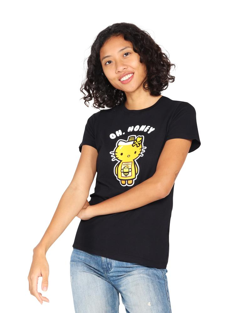 tokidoki  x Hello Kitty - Oh Kitty Women's Tee, Black