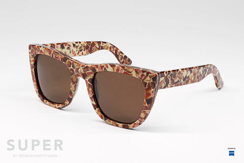 SUPER by Retrosuperfuture - Gals Fierce Lava Sunglasses