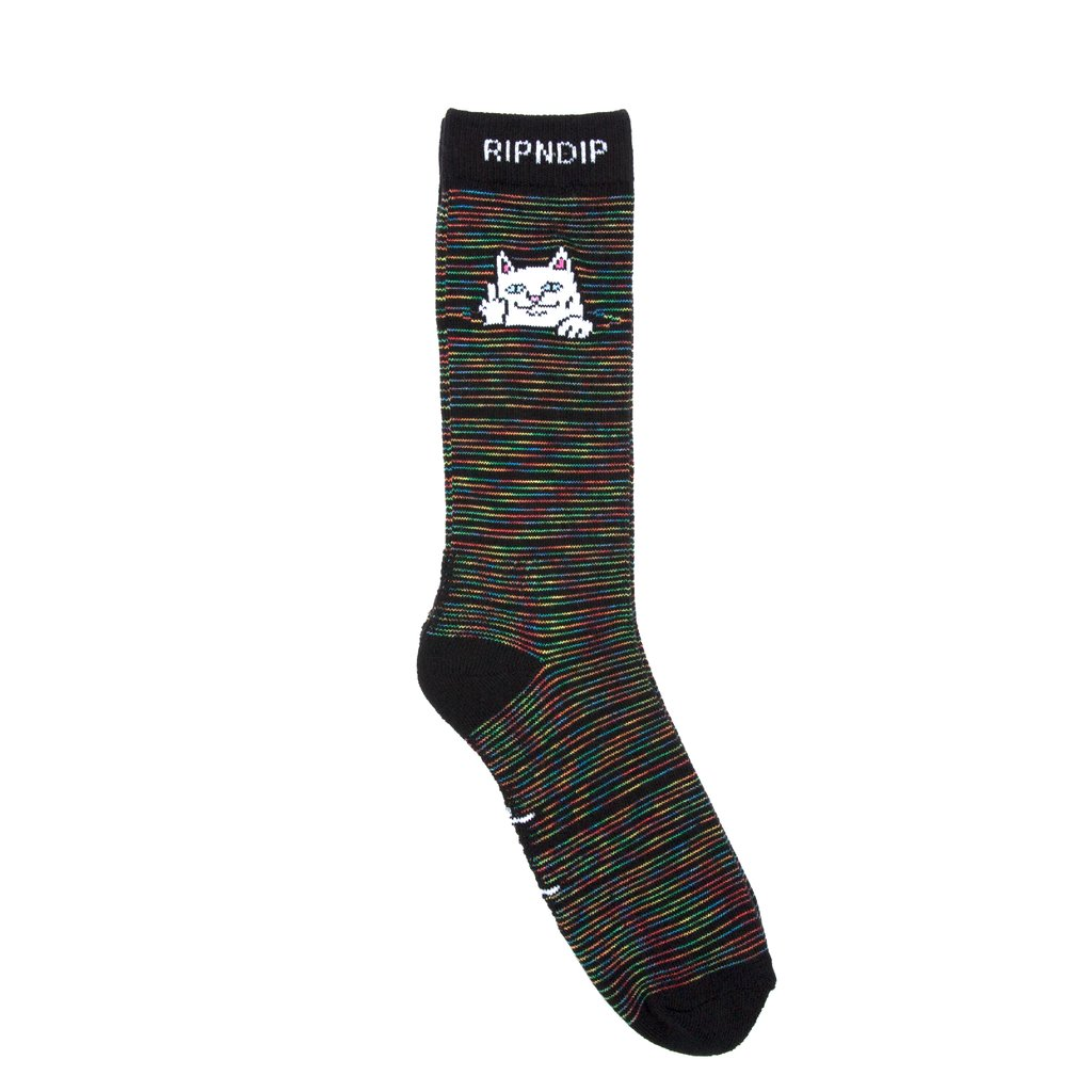 RIPNDIP - Peek A Nermal Socks, Space Yarn Dye