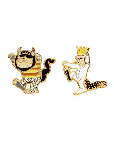 Out Of Print - Where The Wild Things Are Enamel Pin Set - The Giant Peach
