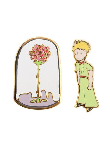 Out Of Print - The Little Prince Enamel Pin Set - The Giant Peach