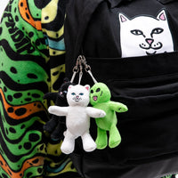 RIPNDIP - Lord Jermal Plush Keychain, Black