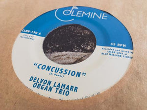 "Delvon Lamarr Organ Trio - Concussion, 7"" Vinyl (Record Store Day) - The Giant Peach"