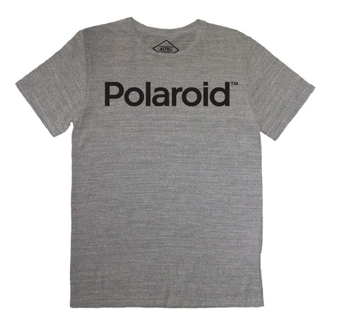 Altru Apparel - Polaroid Men's Tee, Grey Triblend