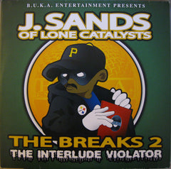 J. Sands - The Breaks 2 - The Interlude Violator, 2XLP - The Giant Peach - 1