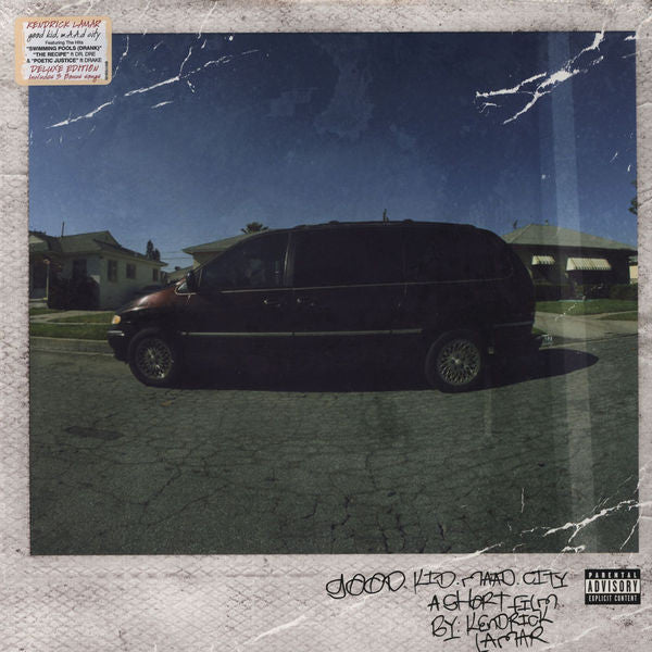 Kendrick Lamar - Good Kid, M.A.A.D. City Deluxe 2xLP Vinyl - The Giant Peach