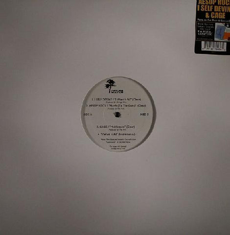 "Aesop Rock, Cage, I Self Devine, 12"" Vinyl - The Giant Peach"