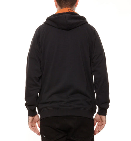 REBEL8 - Arrowhead Men's Zip Hoodie, Black