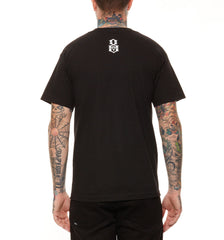 REBEL8 - Eighth Omen Men's Shirt, Black - The Giant Peach - 2