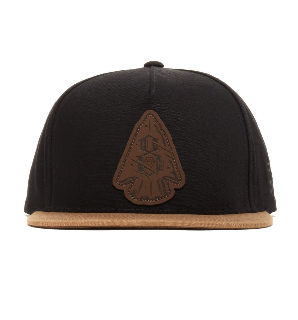 REBEL8 - Ground Keepers Snapback Hat, Black - The Giant Peach