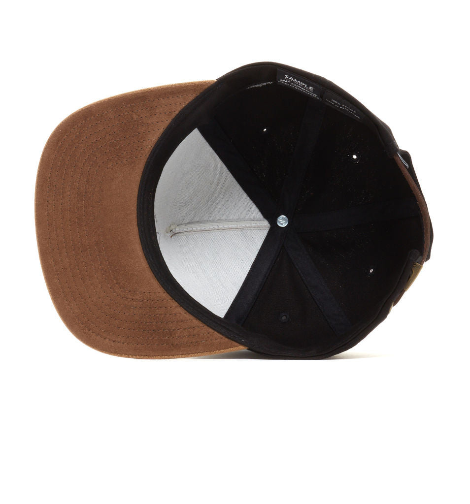 REBEL8 - Ground Keepers Snapback Hat, Black - The Giant Peach - 3