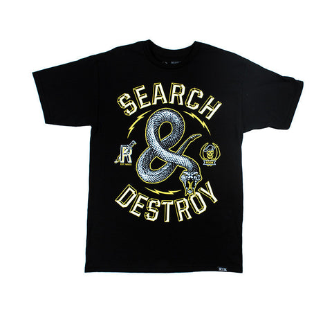 Rook - Destroy Men's Tee, Black