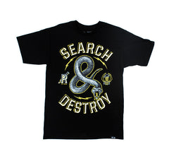 Rook - Destroy Men's Tee, Black - The Giant Peach