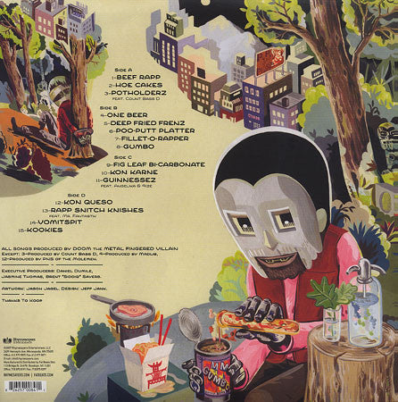 MF Doom - MM..Food (Re-Issue), 2xLP Vinyl - The Giant Peach - 2