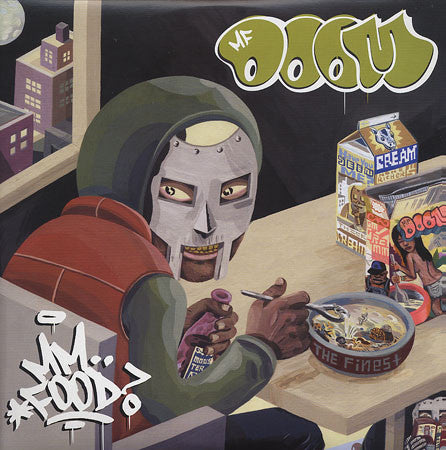 MF Doom - MM..Food (Re-Issue), 2xLP Vinyl - The Giant Peach - 1