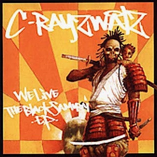C-Rayz Walz - We Live: The Black Samurai EP, CD