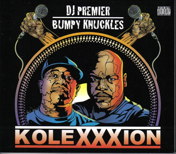 DJ Premier & Bumpy Knuckles - KoleXXXion, CD - The Giant Peach - 1