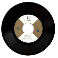 "Allah-Las - Tell Me (What's On Your Mind), 7"" Vinyl - The Giant Peach"