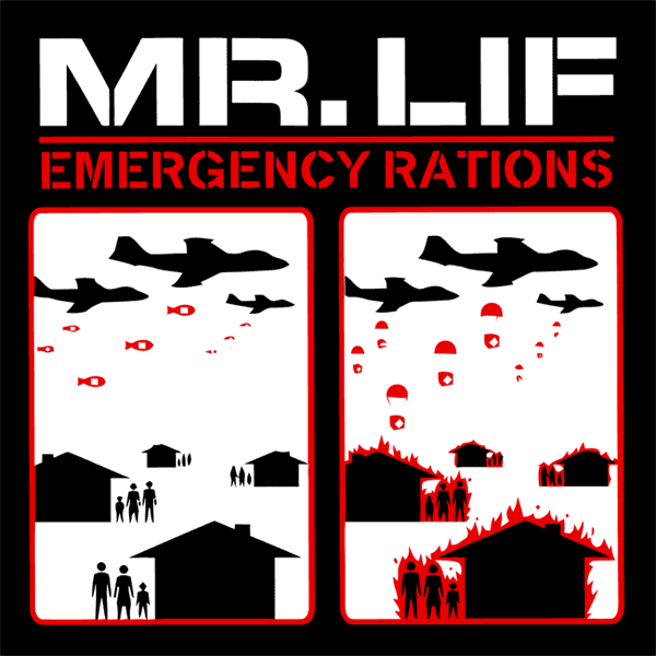 Mr. Lif - Emergency Rations, CD - The Giant Peach
