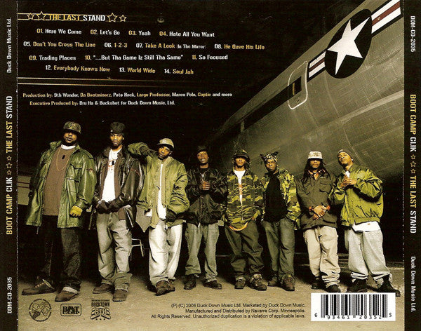 Boot Camp Clik - The Last Stand, CD - The Giant Peach - 2