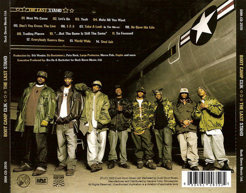 Boot Camp Clik - The Last Stand, CD