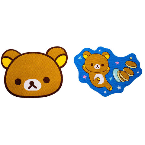 JapanLA - Rilakkuma Iron-On Patch Set