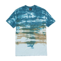 HUF - Sky Wash Men's Tee, Bold Teal
