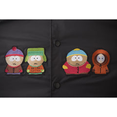 HUF x South Park Men's Coaches Jacket, Black - The Giant Peach