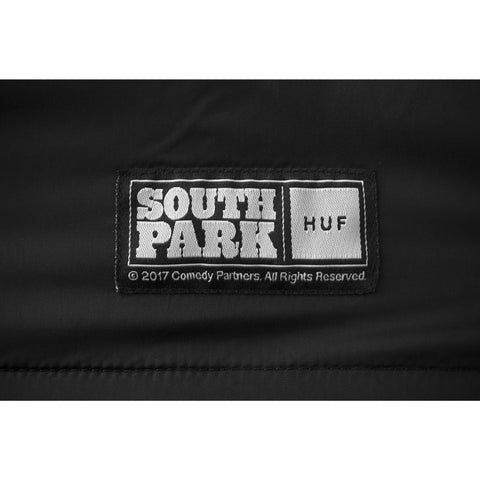 HUF x South Park Men's Coaches Jacket, Black