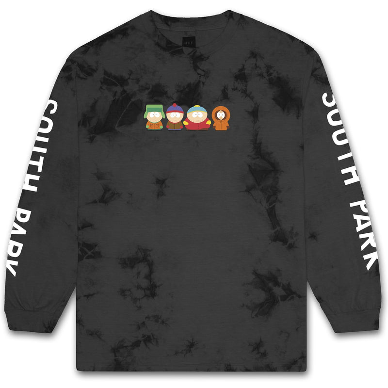 HUF x South Park Crystal Wash Men's L/S Tee, Black - The Giant Peach