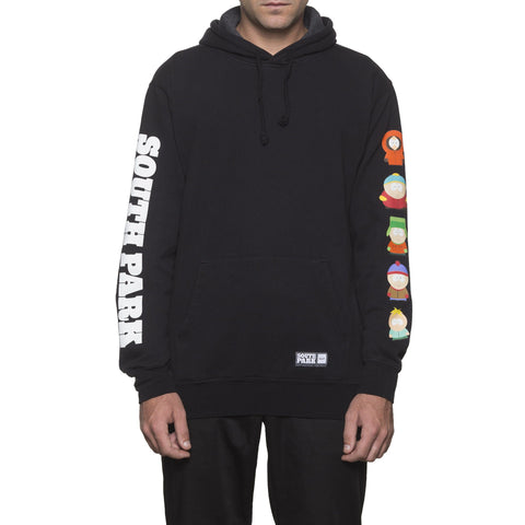 HUF x South Park Men's Pullover Hoodie, Black