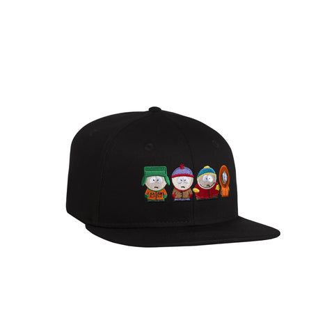 HUF x South Park Strapback Hat, Black