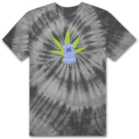 HUF x South Park Towelie Tie Dye Men