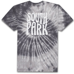 HUF x South Park Trippy Tie Dye Men's Tee, Black - The Giant Peach
