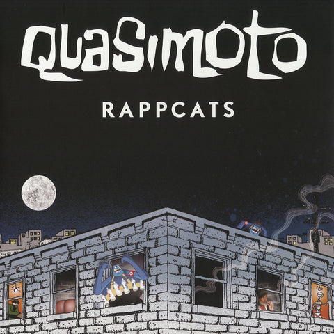 "Quasimoto - Bus Ride / Rappcats, 12"" Vinyl - The Giant Peach"